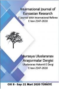 Avrasya Uluslararası Araştırmalar Dergisi