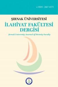 Şırnak University Journal of Divinity Faculty