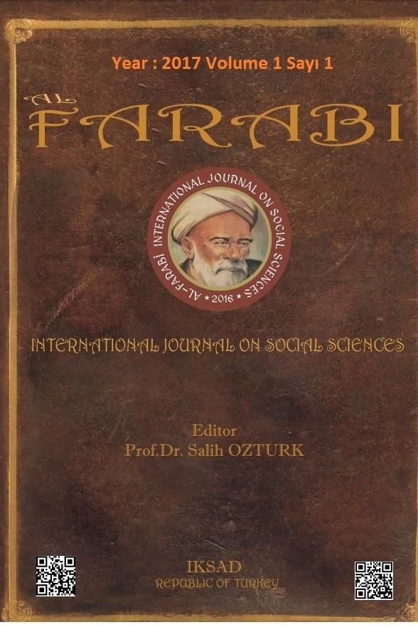 Al Farabi Uluslararası Sosyal Bilimler Dergisi