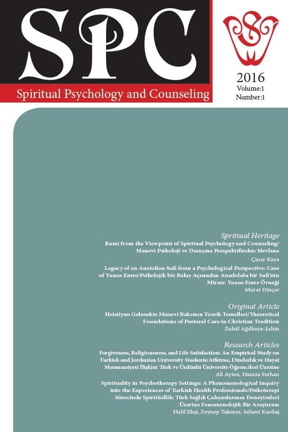 Spiritual Psychology and Counseling