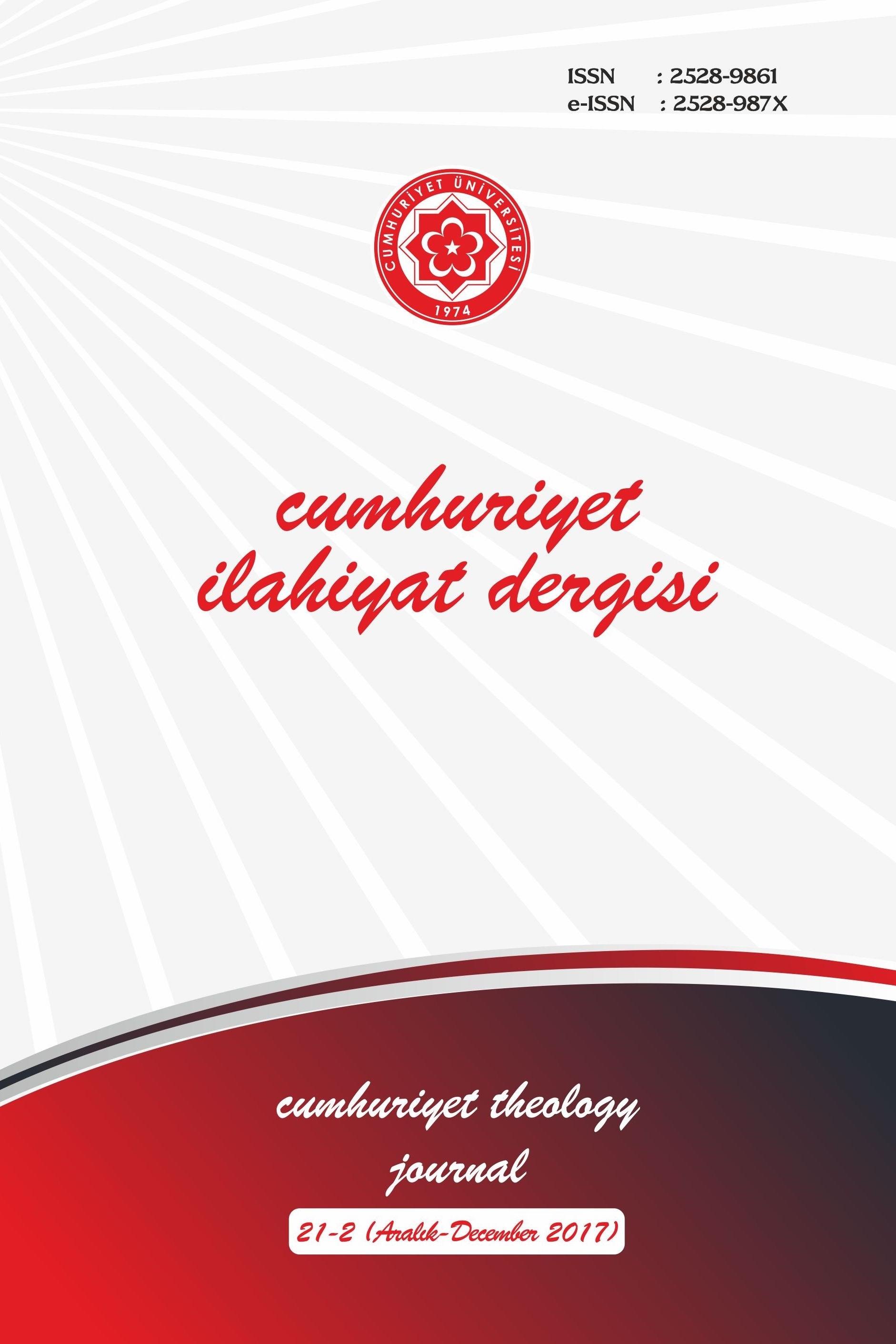 Cumhuriyet İlahiyat Dergisi