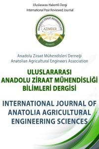 Uluslararası Anadolu Ziraat Mühendisliği Bilimleri Dergisi