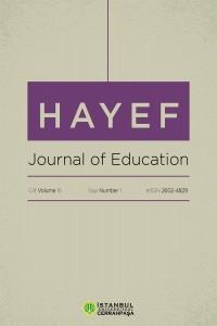 HAYEF Journal of Education