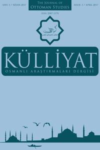 KULLIYAT The Journal Of Ottoman Studies