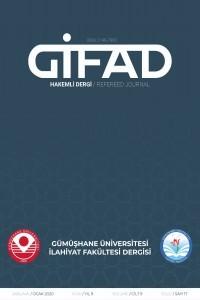 Gümüşhane Üniversitesi İlahiyat Fakültesi Dergisi