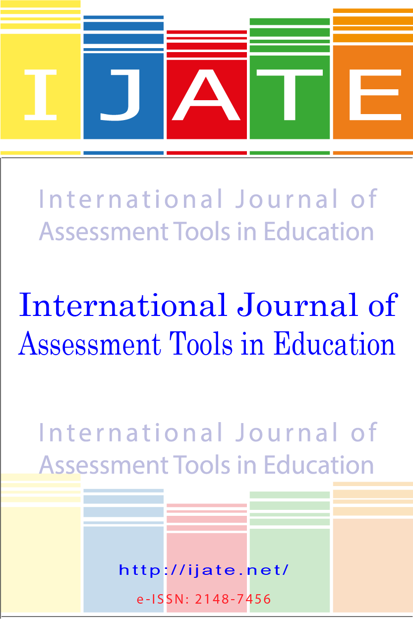 International Journal of Assessment Tools in Education