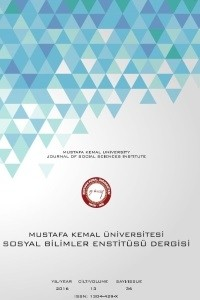 Mustafa Kemal University Journal of Social Sciences Institute