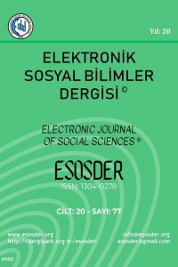 Electronic Journal of Social Sciences