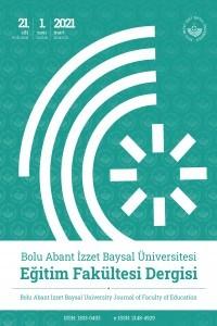 Abant İzzet Baysal Üniversitesi Eğitim Fakültesi Dergisi
