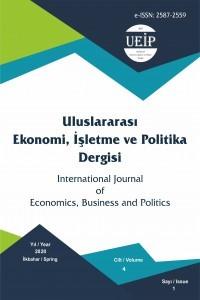 Uluslararası Ekonomi İşletme ve Politika Dergisi