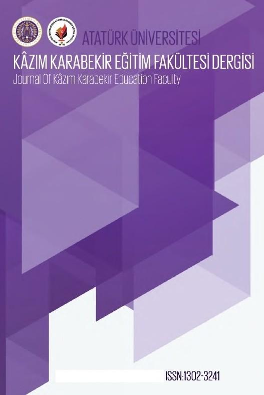 Journal of Kazım Karabekir Education Faculty