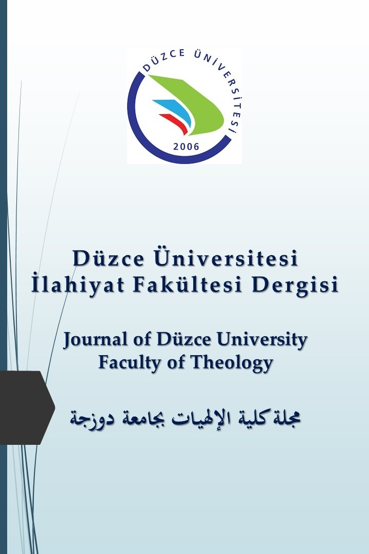 Journal of Duzce University Faculty of Theology