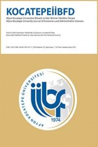 Afyon Kocatepe Üniversitesi İktisadi ve İdari Bilimler Fakültesi Dergisi