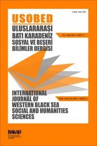 International Journal of Western Black Sea Social and Humanities Sciences