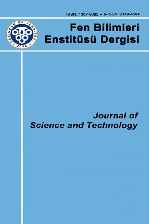 Erzincan Üniversitesi Fen Bilimleri Enstitüsü Dergisi