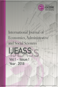 International Journal of Economics Administrative and Social Sciences