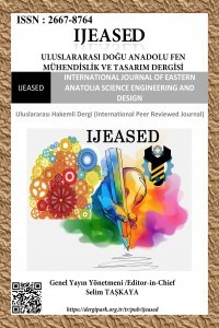 Uluslararası Doğu Anadolu Fen Mühendislik ve Tasarım Dergisi