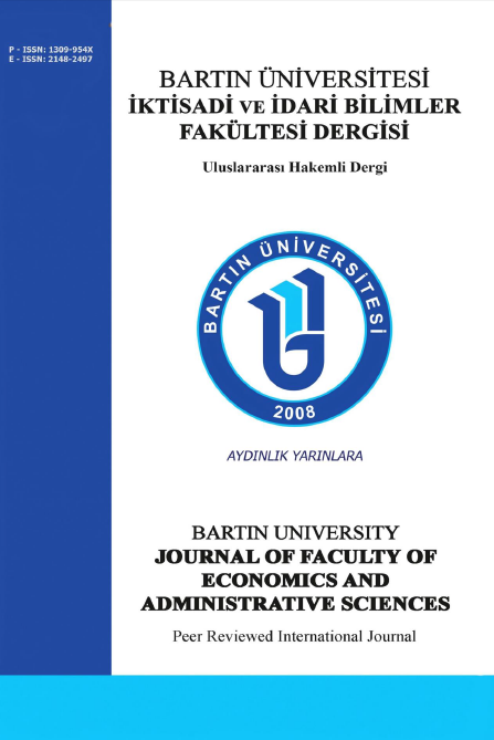 Bartın Üniversitesi İktisadi ve İdari Bilimler Fakültesi Dergisi