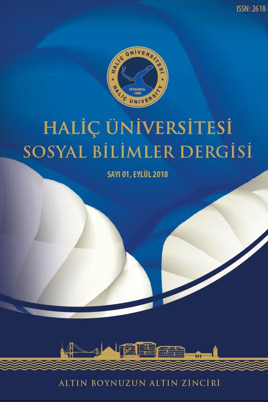 Haliç Üniversitesi Sosyal Bilimleri Dergisi
