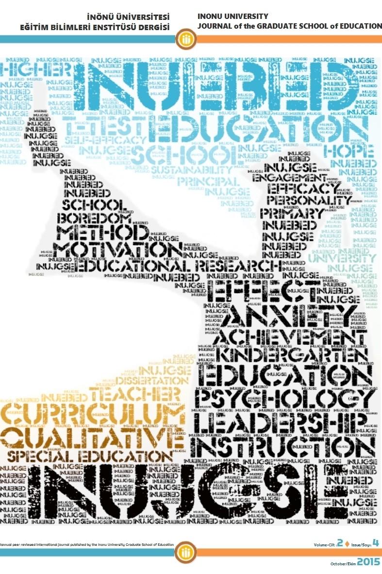 Inonu University Journal of the Graduate School of Education