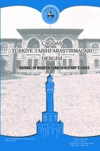 Çağdaş Türkiye Tarihi Araştırmaları Dergisi