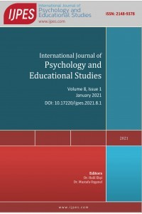 International Journal of Psychology and Educational Studies