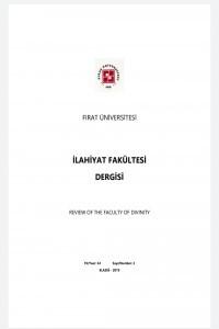 Fırat Üniversitesi İlahiyat Fakültesi Dergisi